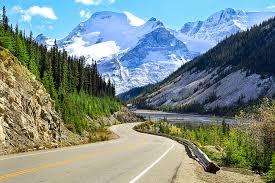 Road scenery