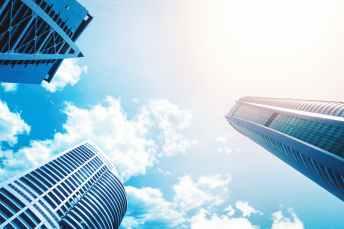 architectural design architecture blue sky buildings