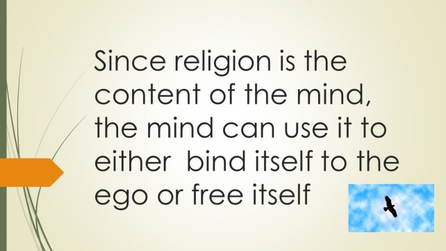 religion are contents of mind